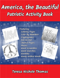 America the Beautiful Activity Book Cover