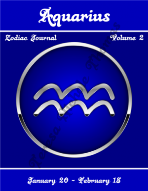 Aquarius Zodiac Journal Volume 2 Pic 01