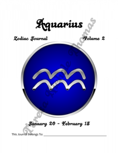 Aquarius Zodiac Journal Volume 2 Pic 02