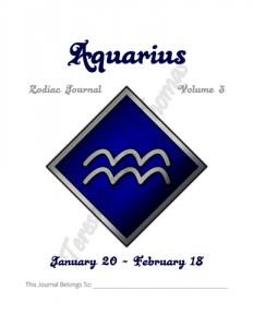 Aquarius Zodiac Journal Volume 3 Pic 02