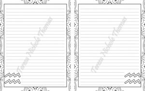 Aquarius Zodiac Journal Volume 5 Pic 02