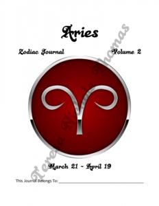 Aries Zodiac Journal Volume 2 Pic 02