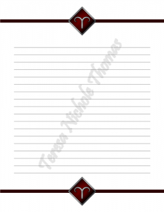 Aries Zodiac Journal Volume 3 Pic 03