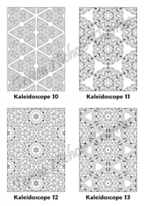 Calm Kaleidoscopes Adult Coloring Book Volume 01 Pic 04
