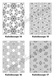Calm Kaleidoscopes Adult Coloring Book Volume 01 Pic 05