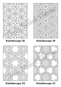 Calm Kaleidoscopes Adult Coloring Book Volume 01 Pic 06