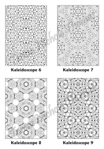 Calm Kaleidoscopes Adult Coloring Book Volume 02 Pic 03