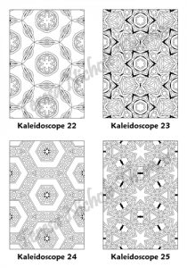 Calm Kaleidoscopes Adult Coloring Book Volume 02 Pic 07