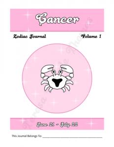 Cancer Zodiac Journal Volume 1 Pic 02