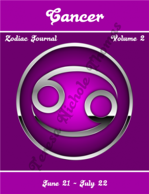 Cancer Zodiac Journal Volume 2 Pic 01