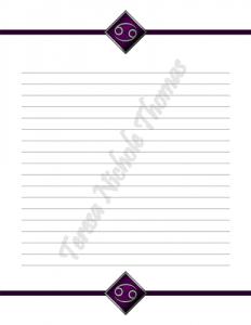 Cancer Zodiac Journal Volume 3 Pic 03