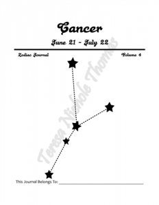 Cancer Zodiac Journal Volume 4 Pic 02