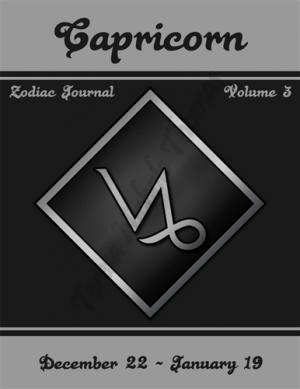 Capricorn Zodiac Journal Volume 3 Pic 01