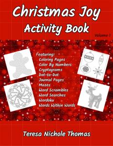 Christmas Joy Activity Book Volume 1 Pic 01