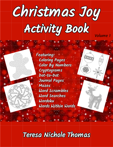Christmas Joy Activity Book Volume 1 Pic 01