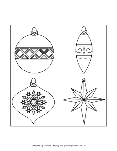 Christmas Joy Activity Book Volume 1 Pic 03