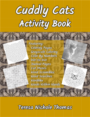 Cuddly Cats Activity Book Cover