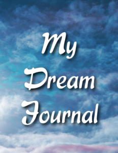 Clouds Dream Journal Cover Front