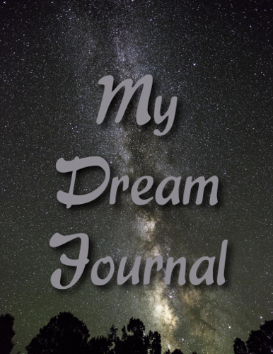 Milky Way Dream Journal Cover Front