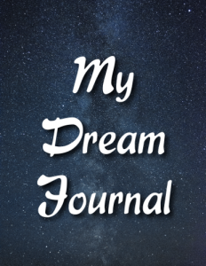 Night Sky Dream Journal Cover Front