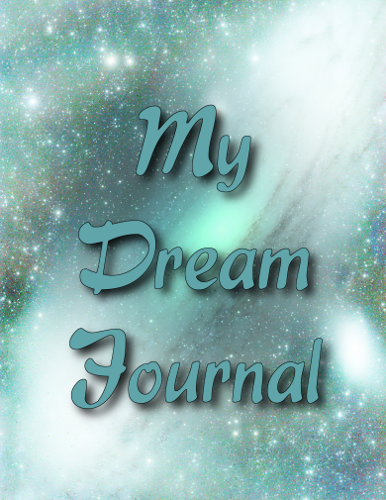 Outer Space Dream Journal Cover Front