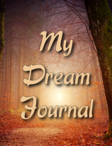Peace Dream Journal Cover Front