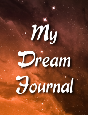 Starry Sky Dream Journal Cover Front