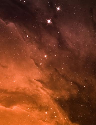 Starry Sky Dream Journal Cover Back