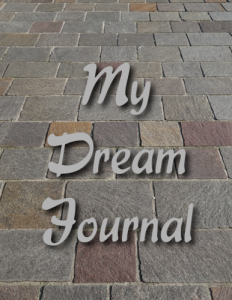 Stillness Dream Journal Cover Front