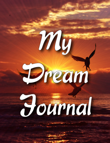 Sunset Dream Journal Cover Front