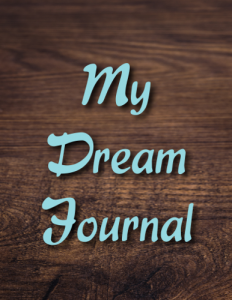 Woodgrain Dream Journal Cover Front