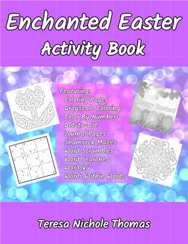 Enchanted Easter Activity Book Cover