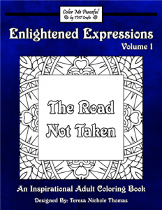 Enlightened Expressions Coloring Book Volume 01 Cover