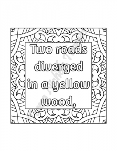Enlightened Expressions Coloring Book Volume 01 Pic 02