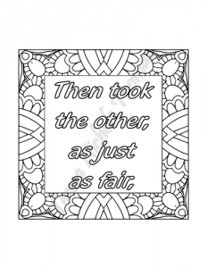 Enlightened Expressions Coloring Book Volume 01 Pic 07