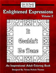 Enlightened Expressions Coloring Book Volume 02 Cover
