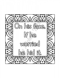 Enlightened Expressions Coloring Book Volume 02 Pic 07