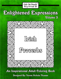 Enlightened Expressions Coloring Book Volume 03 Cover