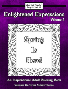 Enlightened Expressions Coloring Book Volume 04 Cover