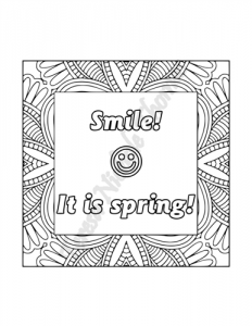 Enlightened Expressions Coloring Book Volume 04 Pic 04