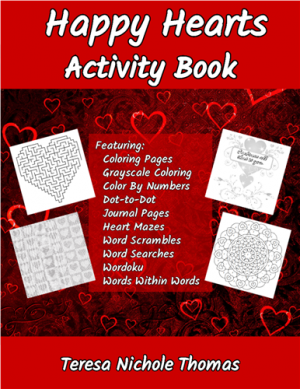 Happy Hearts Activity Book Cover
