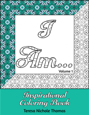 I Am Inspirational Coloring Book Volume 01 Cover