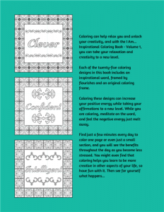 I Am Inspirational Coloring Book Volume 01 Pic 05
