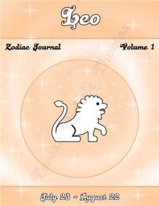 Leo Zodiac Journal Volume 1 Pic 01