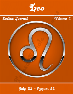Leo Zodiac Journal Volume 2 Pic 01