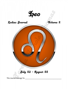 Leo Zodiac Journal Volume 2 Pic 02