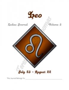Leo Zodiac Journal Volume 3 Pic 02