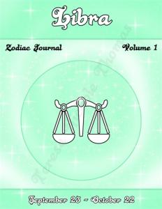 Libra Zodiac Journal Volume 1 Pic 01