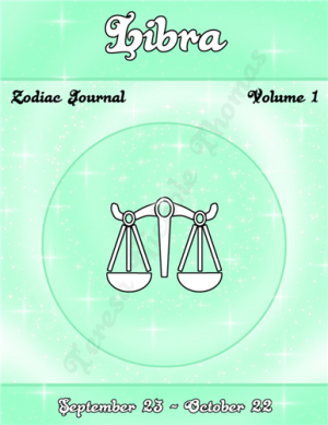 Libra Zodiac Journal Volume 1 Pic 01