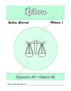 Libra Zodiac Journal Volume 1 Pic 02